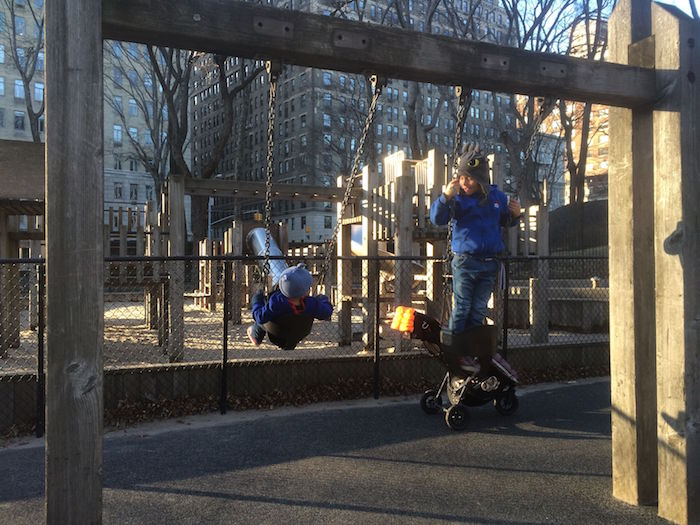 image - diana ross playground Ross Playground central park swings