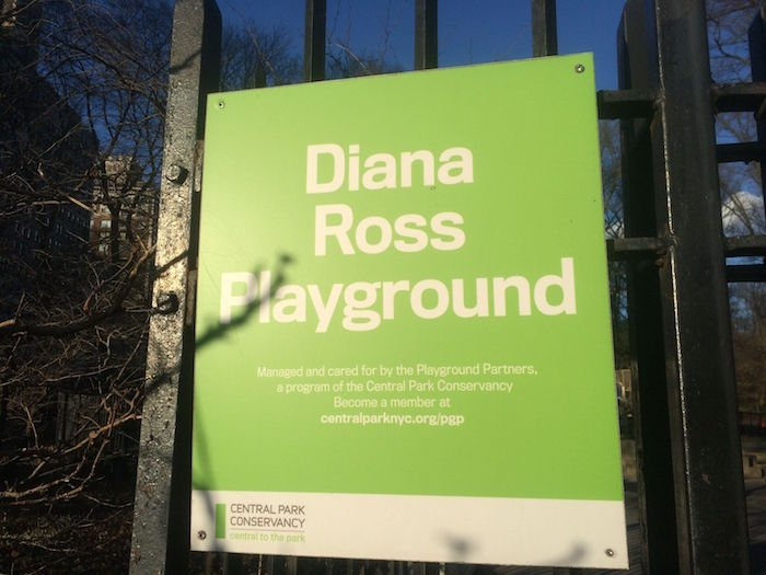 image - diana ross playground Ross Playground sign