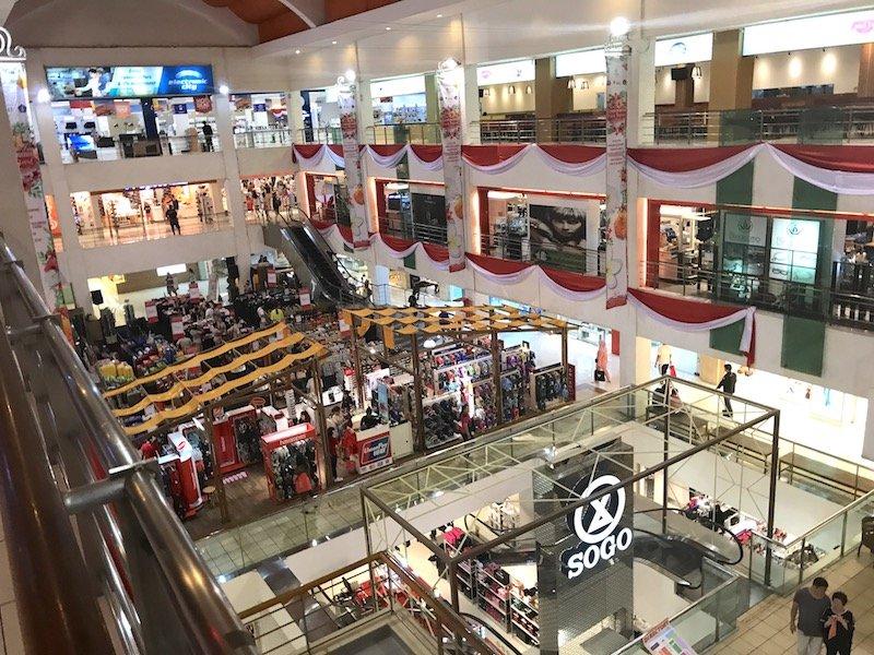 image - discovery mall bali interior