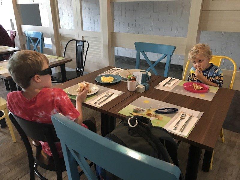 image - eating at ibis seminyak bali hotel