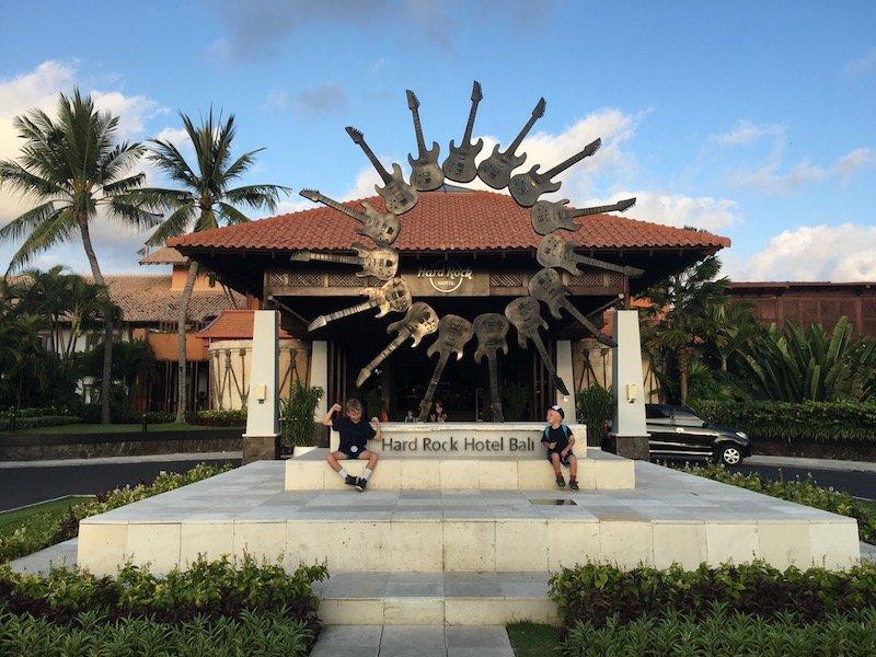 image - hard rock hotel bali entrance