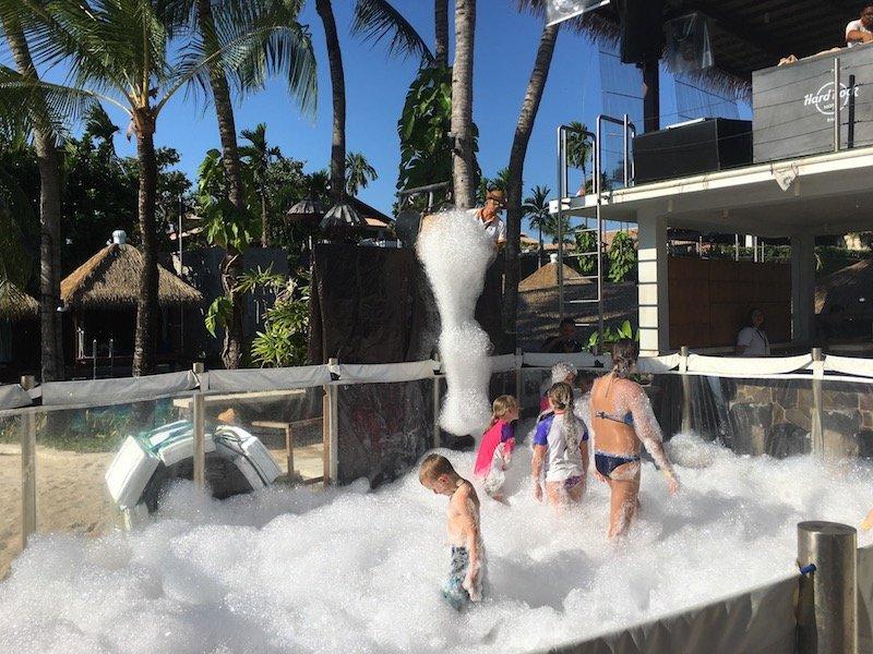 image - hard rock hotel bali foam party