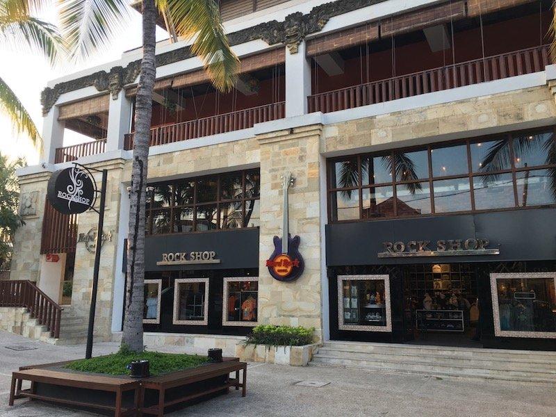 image - hard rock hotel bali rock shop