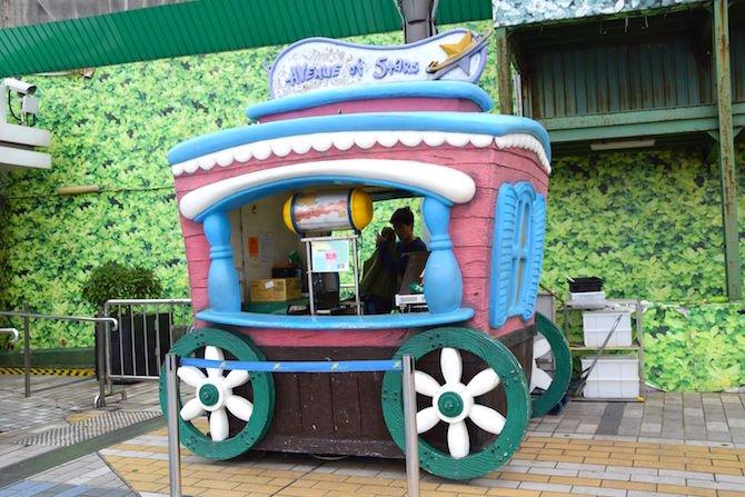 image - hong kong avenue of stars popcorn wagon