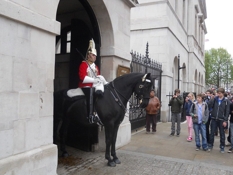 image - household cavalry museum guard by mikey 7279440750