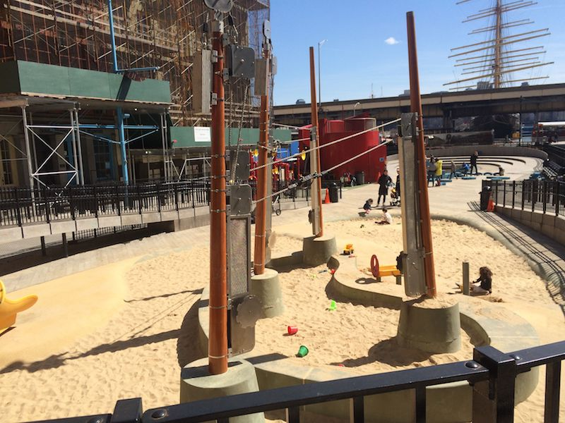 image - imagination playground new york sandpit