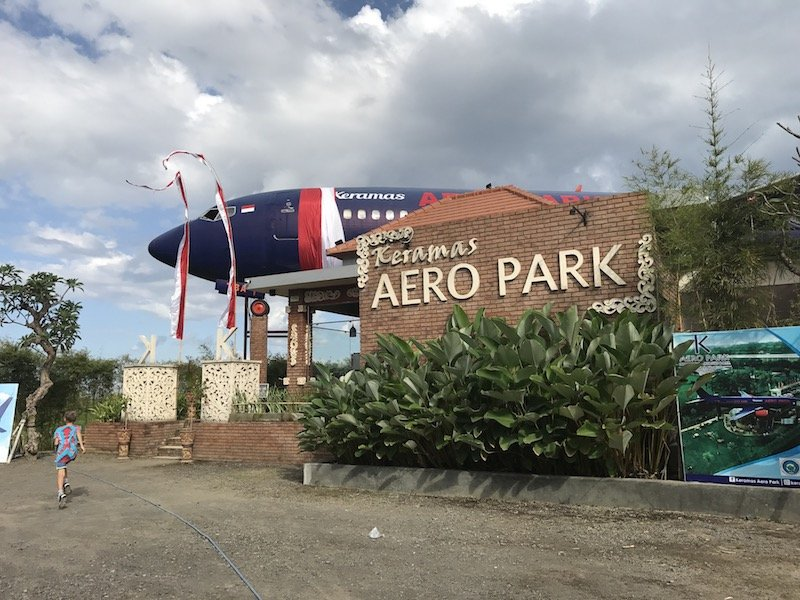 image - keramas aero park bali exterior