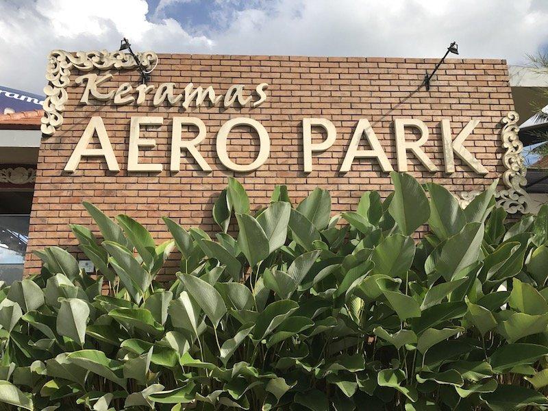 image - keramas aero park bali sign