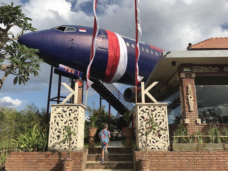 image - keramas aero park in bali entrance