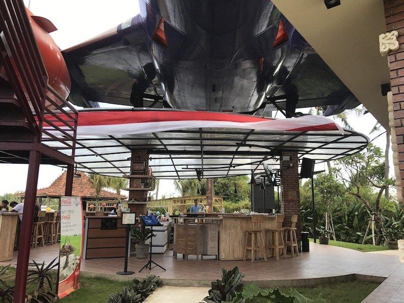 image - keramas aero park under the plane bali
