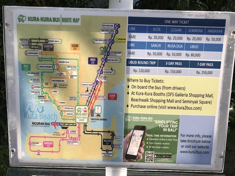 image - kura kura bus routes