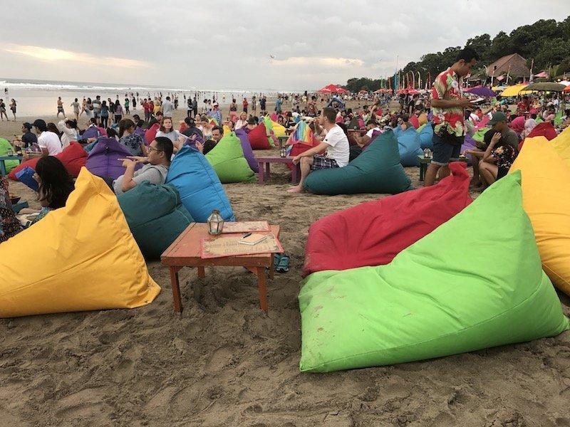 image - la plancha bali beach restaurant