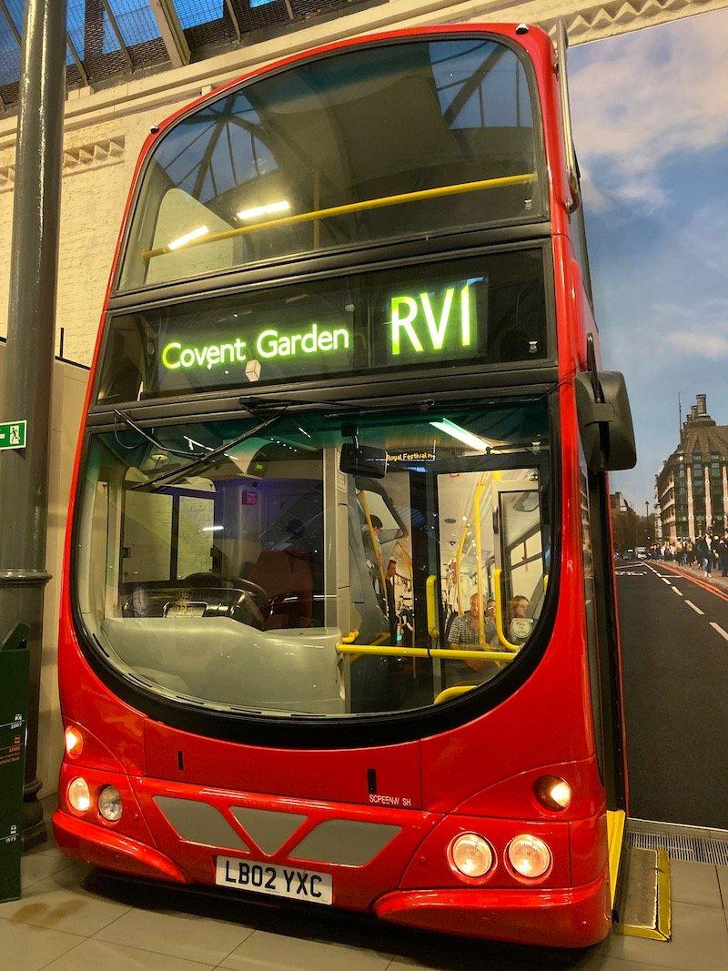 image - london transport museum covent garden bus