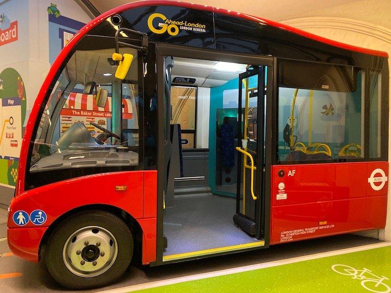 image - london transport museum covent garden go bus