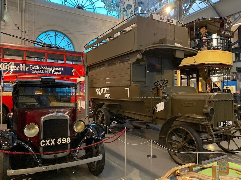 image - london transport museum covent garden vehicles