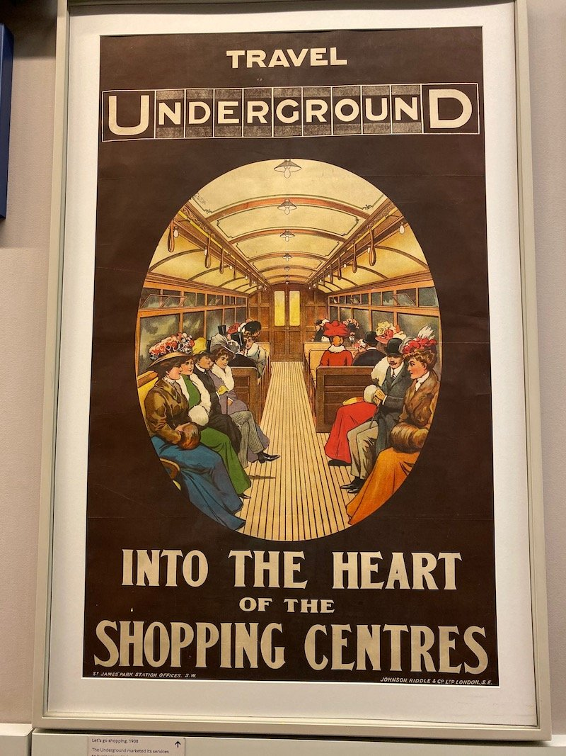 image - london transport museum covent garden vintage posters