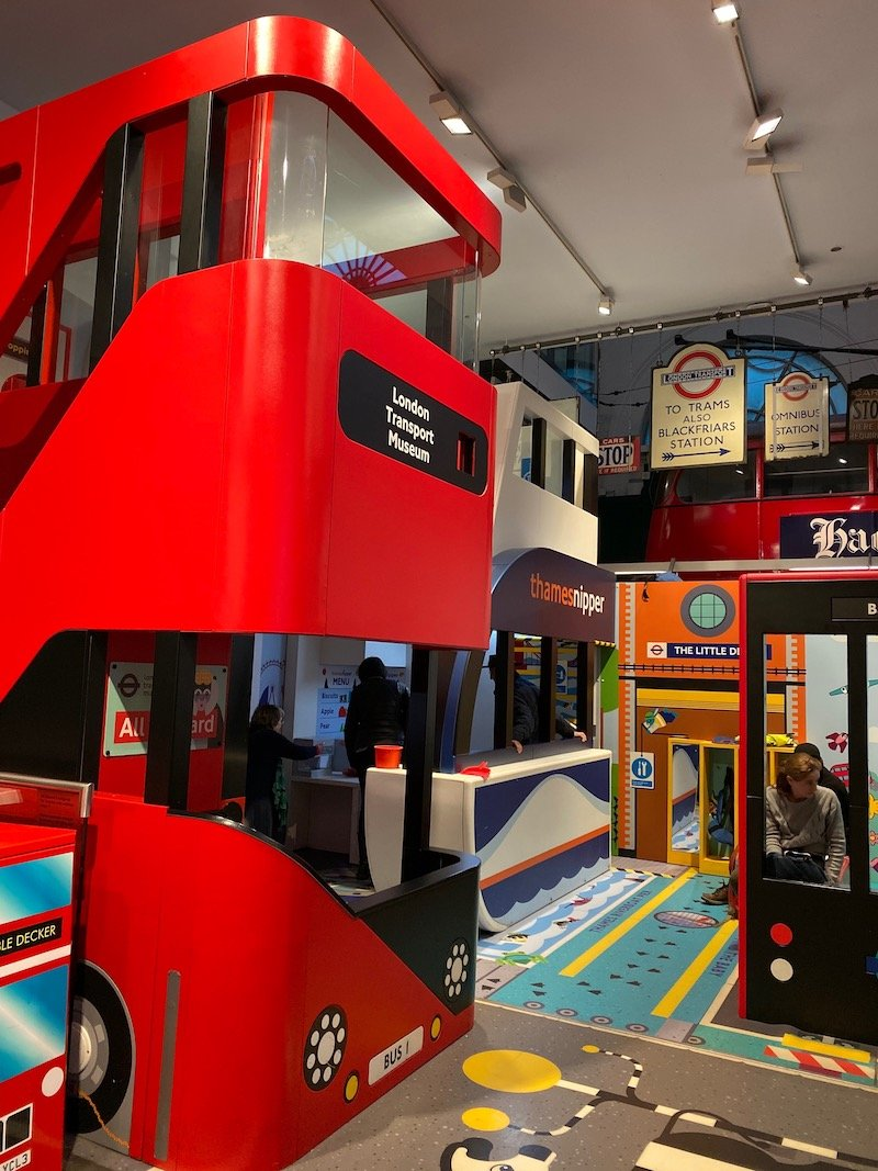image - london transport museum for kids