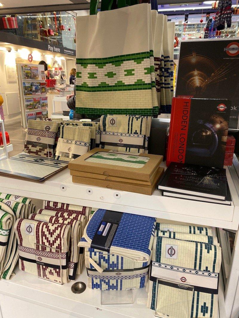 image - london transport museum shop homewares