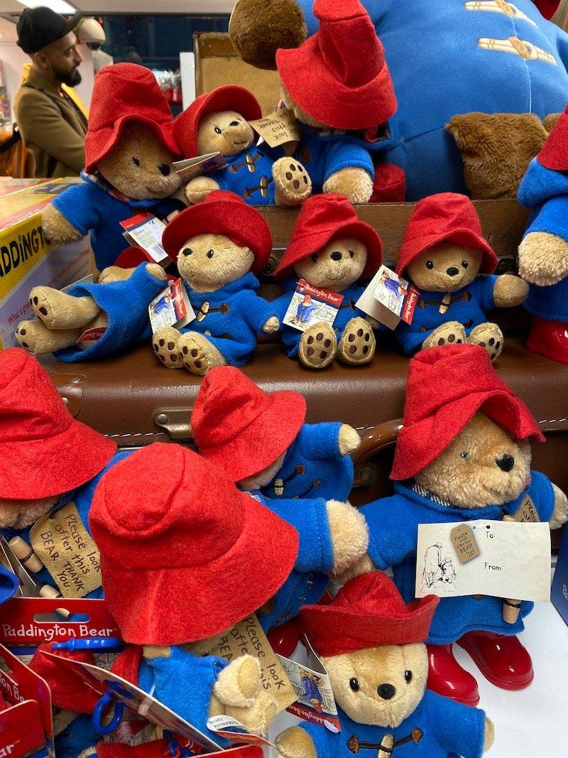 image - london transport museum shop paddington bear