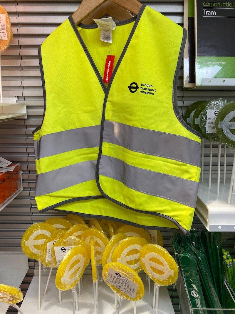image - london transport museum shop transport safety vest