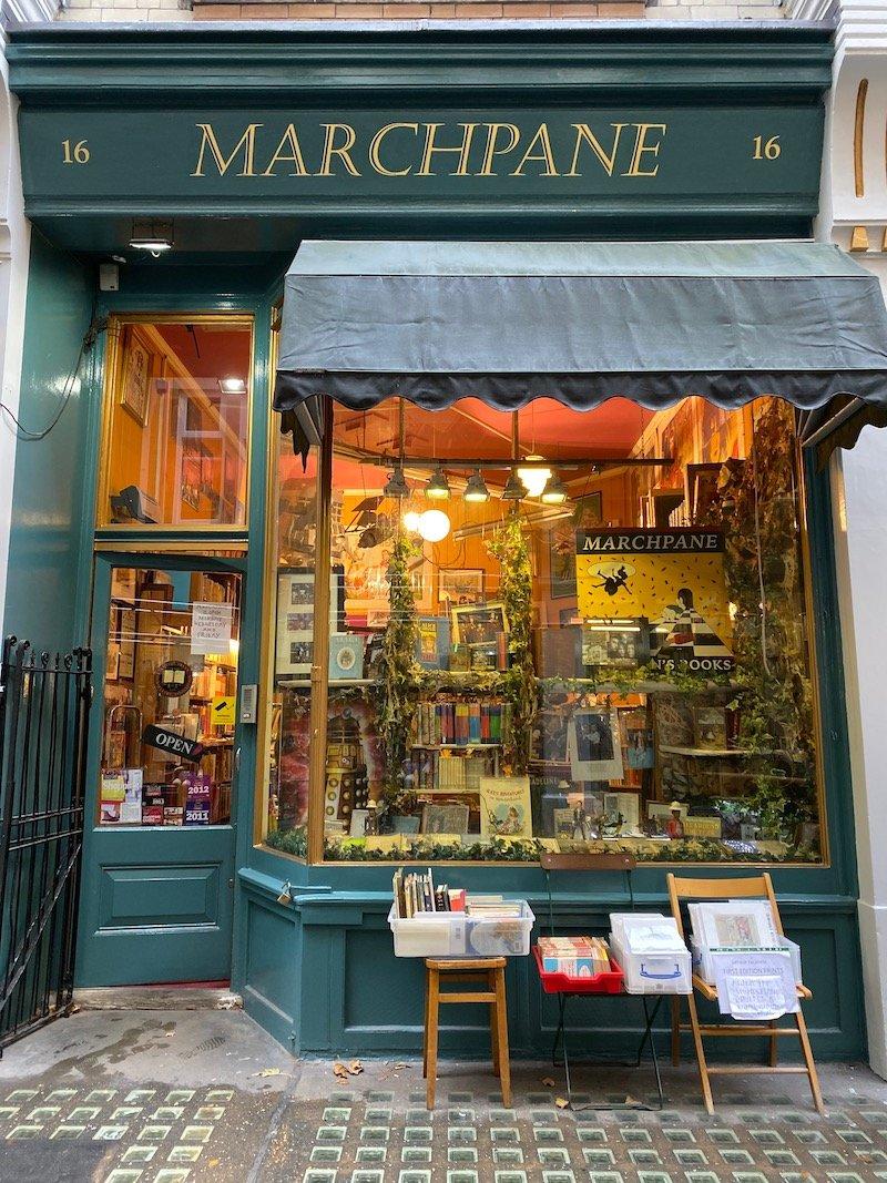 image - marchpane bookshop london