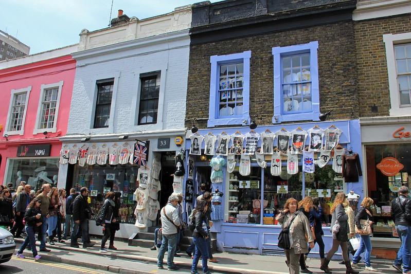 image - notting hill portobello road shops by karen roe