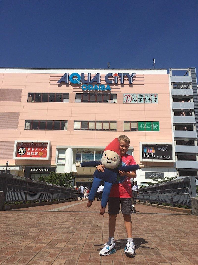 image - odaiba aqua city with ned