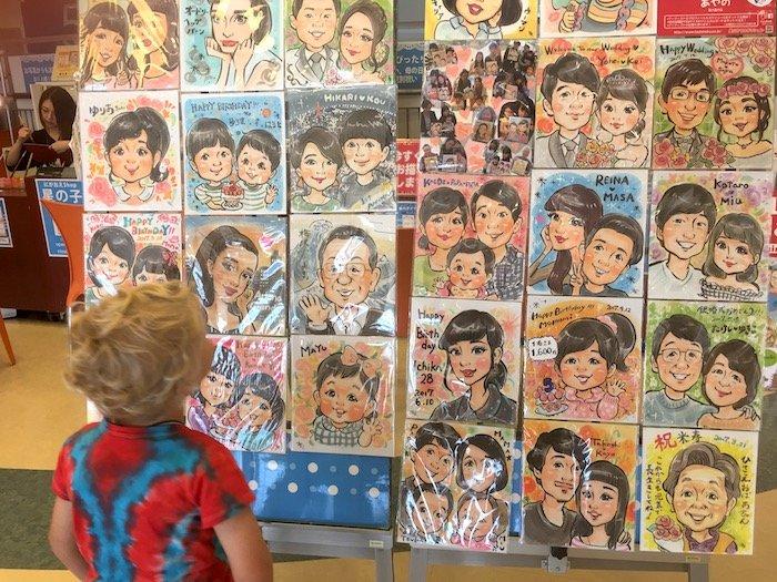 image - odaiba caricatures 700