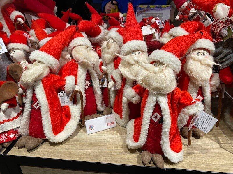 image - official santa post office rovaniemi santa dolls