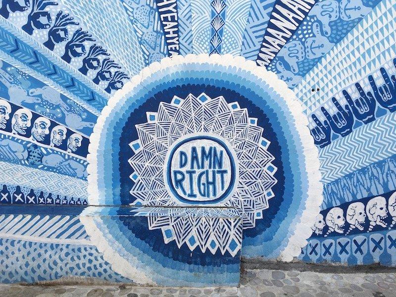 image - old mans bali artwork