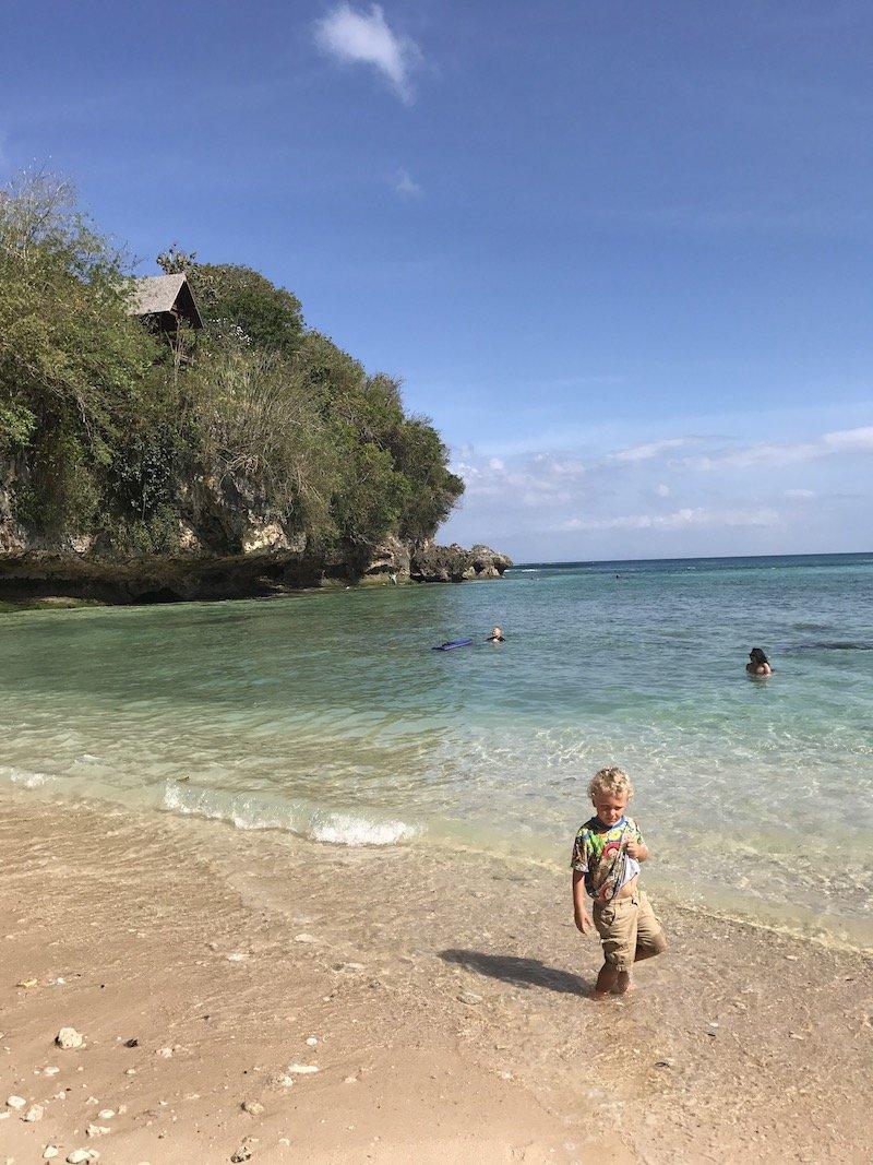 image - padang padang beach with jack