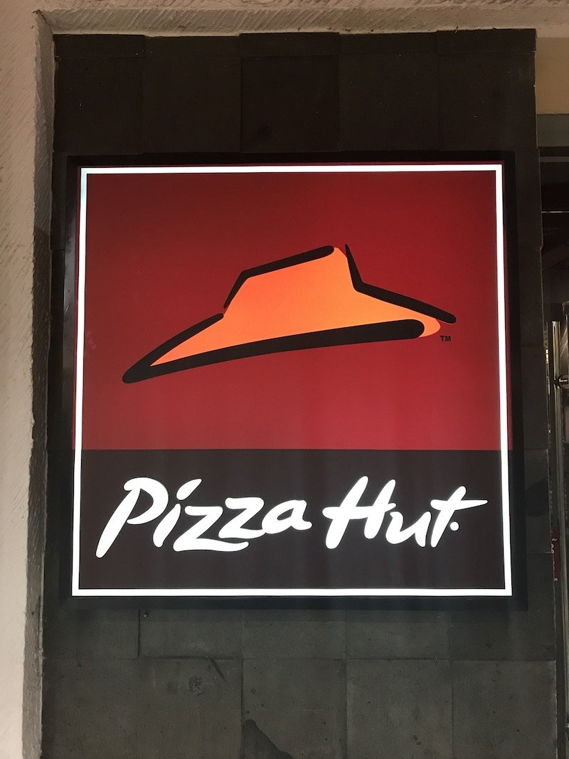 image - pizza hut bali logo sign