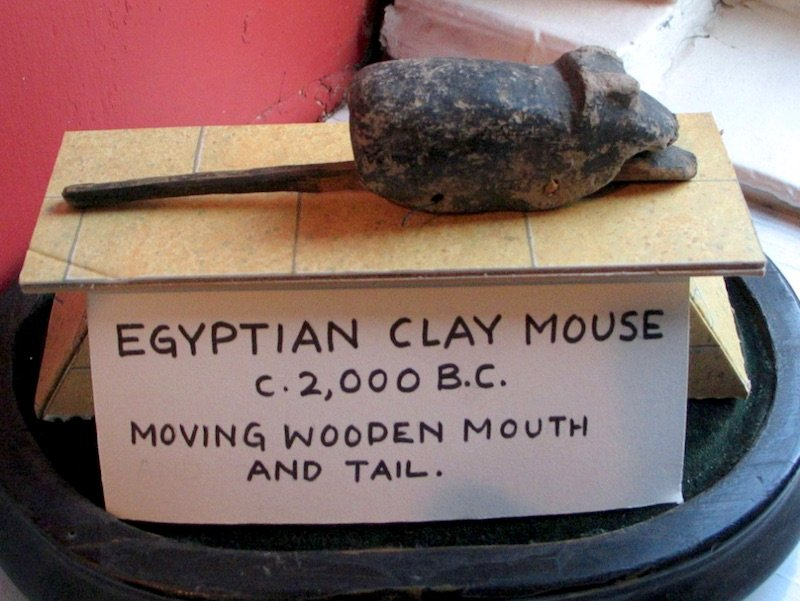 image - pollocks toy museum clay mouse