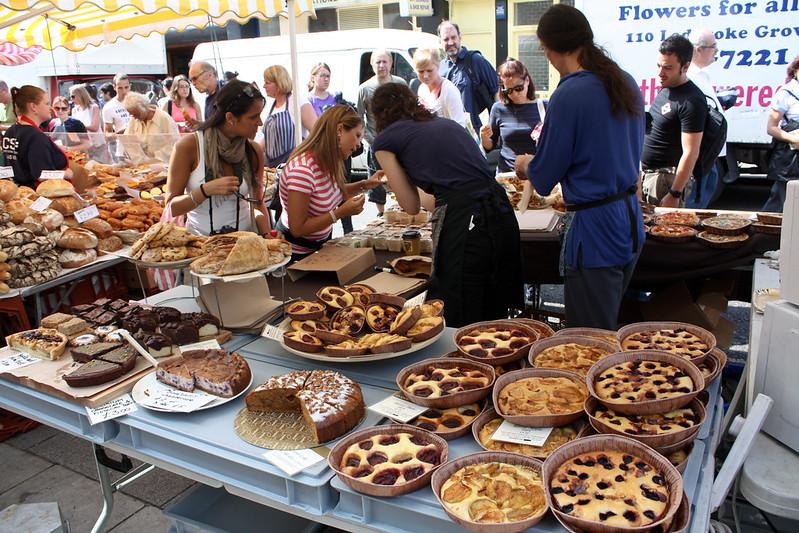 image - portobello market cakes and bread by shadowgate