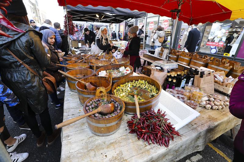 image - portobello road market olives by bryan flickr