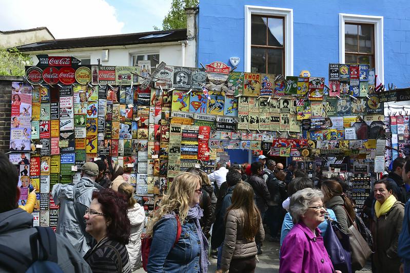 image - portobello road market signs by martin pettitt