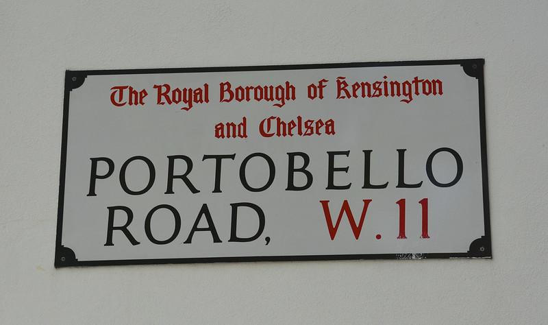 image - portobello road sign london by martin pettitt