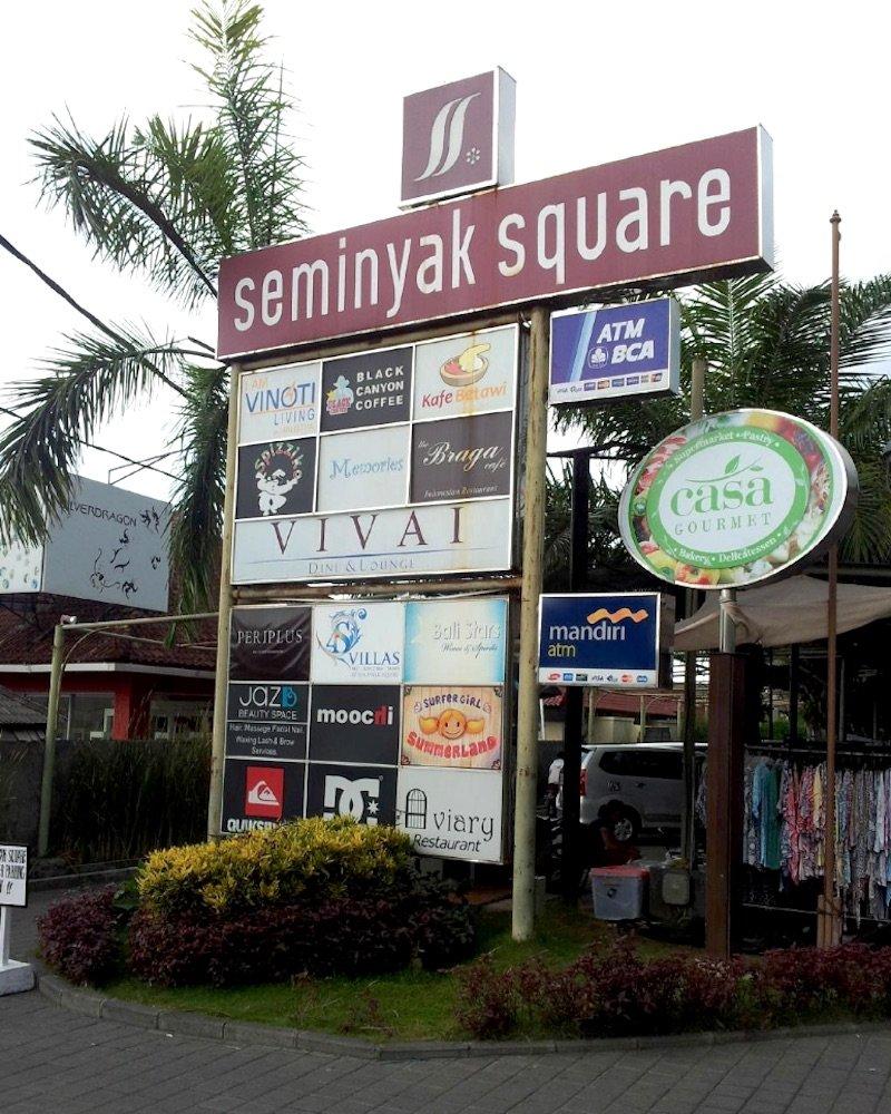 image - seminyak square bali sign via lynne pp via ta