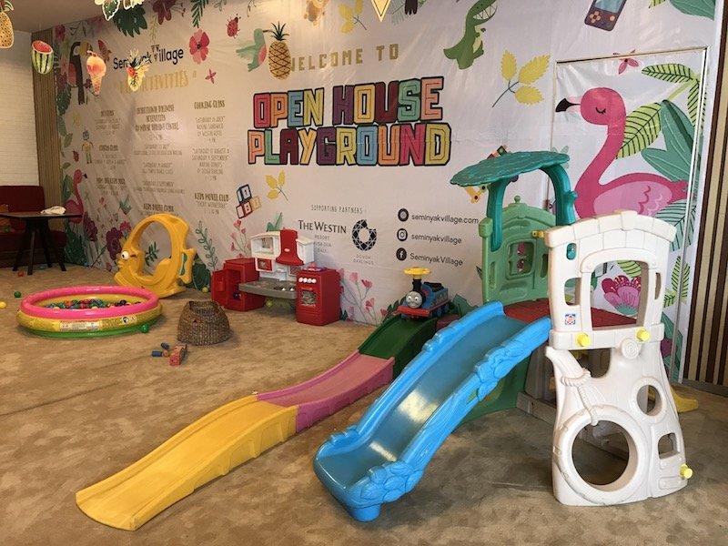 image - seminyak village open house playground
