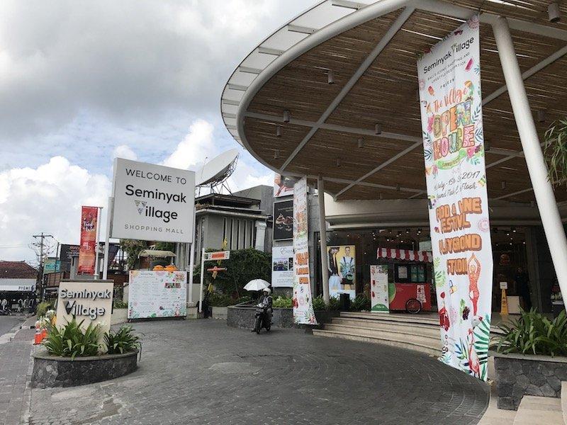 image - seminyak village shopping mall exterior