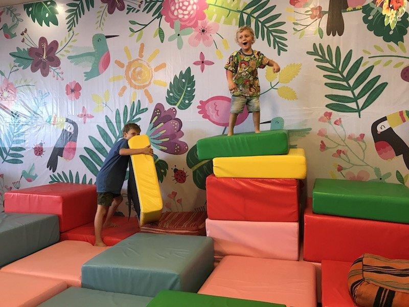 image - seminyak village shopping mall playground for kids