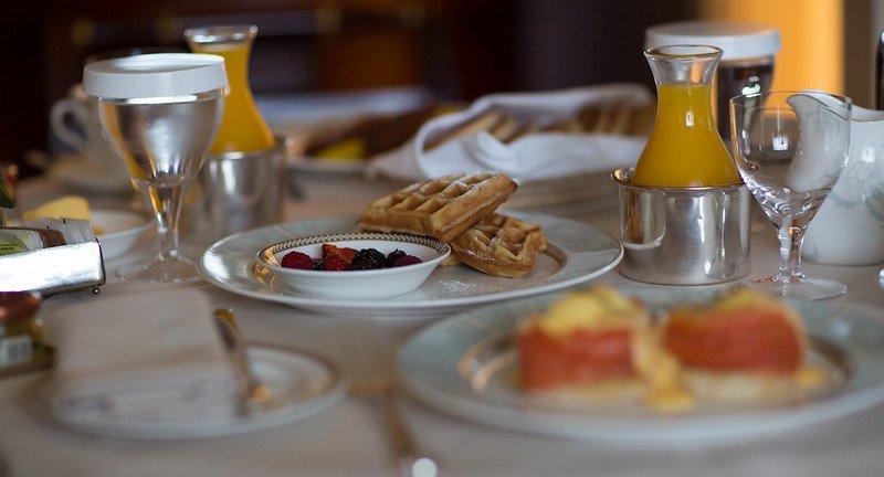 image - the savoy hotel breakfast by martin hesketh