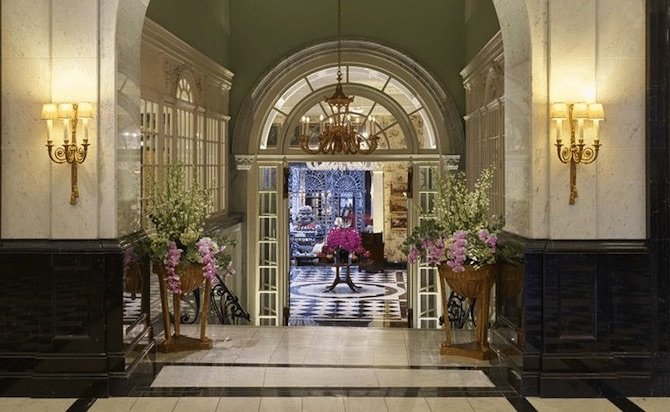 image - the-savoy-hotel-london-entrance-to-foyer