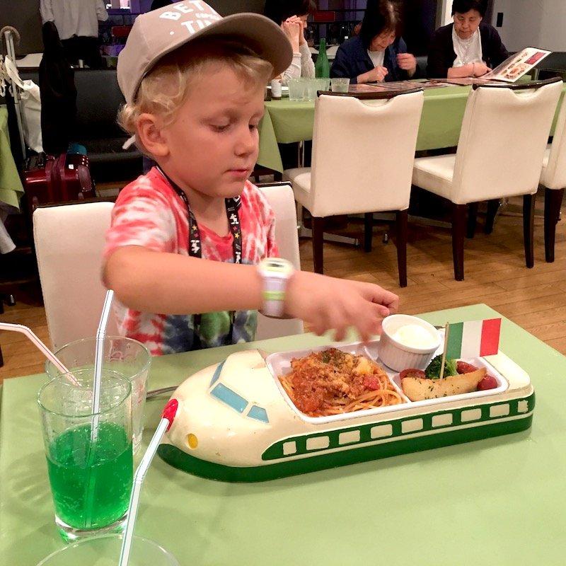 image - venus fort odaiba food court jack shinkansen