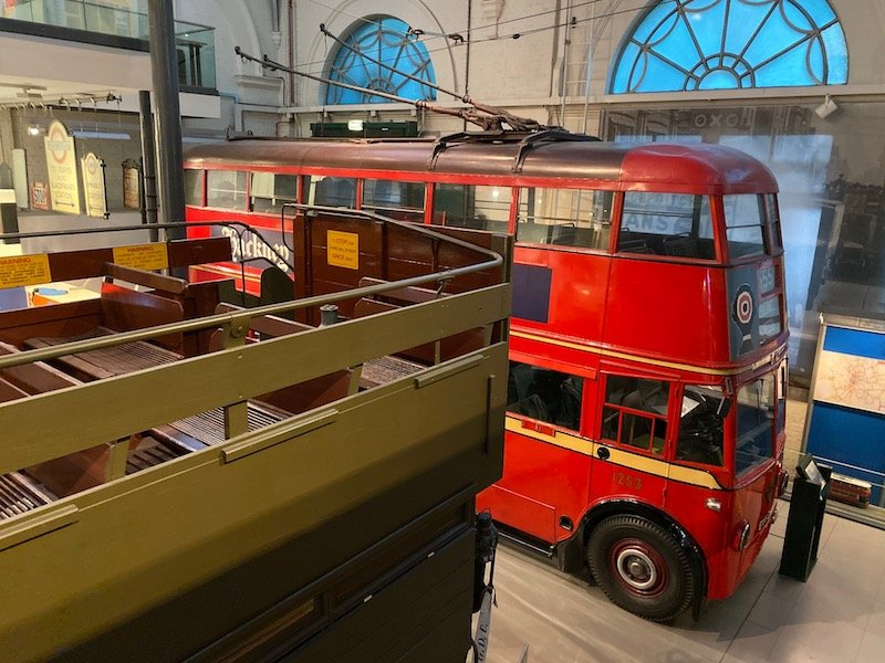 image -view from second level of london transport museum covent garden