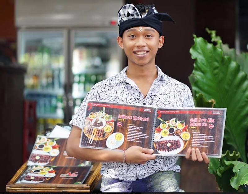 image - warung bali restaurant menu