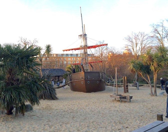 image - princess diana playground hyde park boat centre