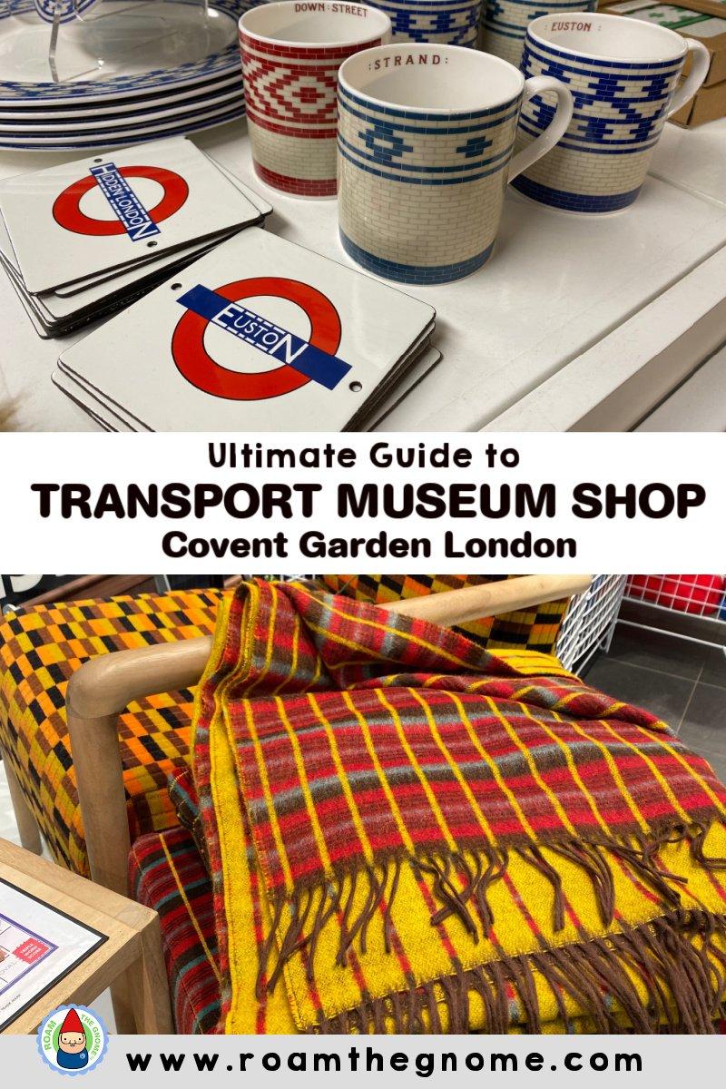 PIN london transport museum shop