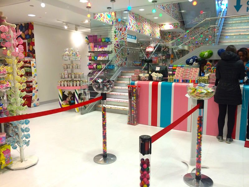 image - Dylan's Candy Store New York bottom floor