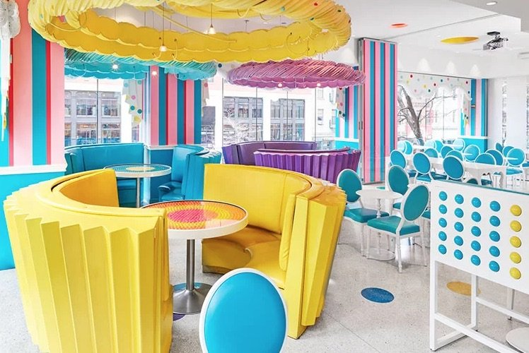 image - Dylan's Candy Store New York cupcake booths 750